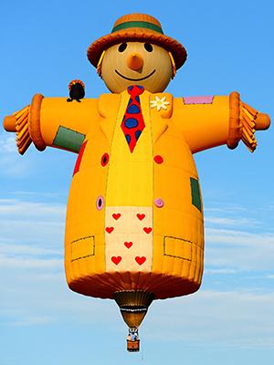 Smiley the Scarecrow